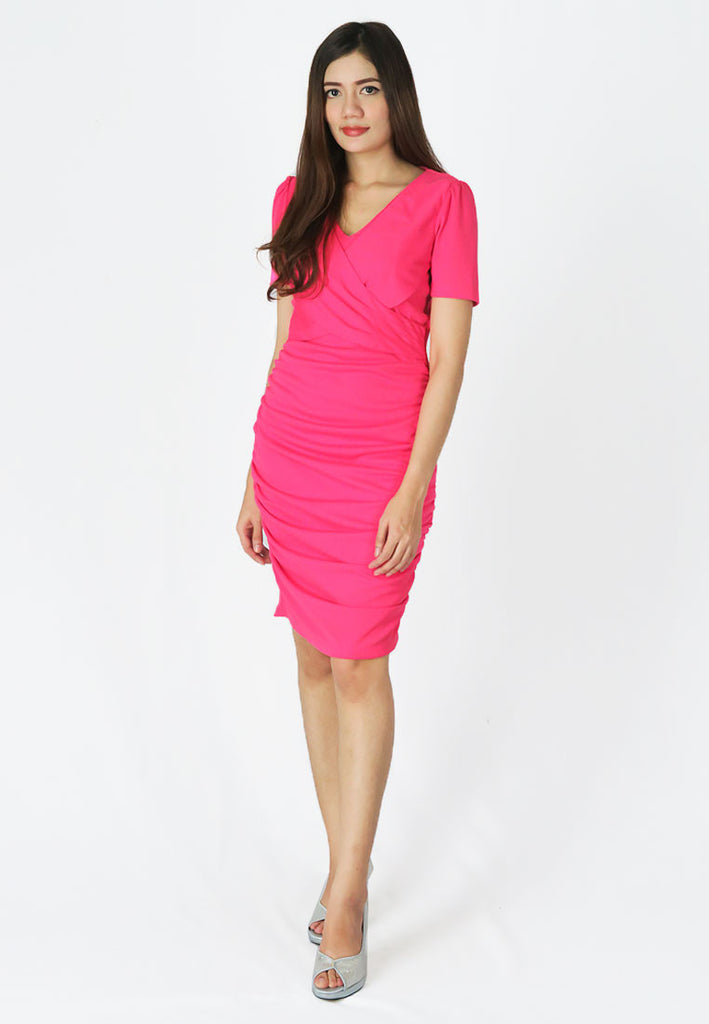 เดรสทำงานทรง Slim Fit - Slim Fit Bodycon Business Working Dress
