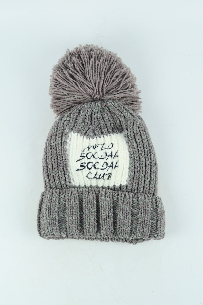 Stylish Unisex Knitted Beanie Hat