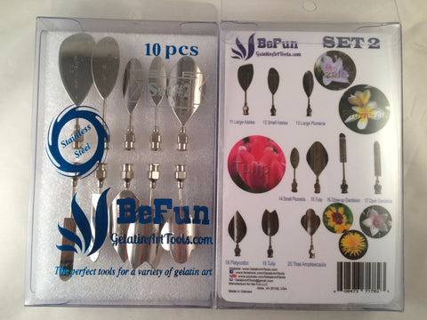 BeFun™ # 2 Gelatin Art Tools Set with serial number - Gelatin Art Tools - 1