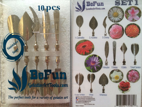 BeFun™ #1 Gelatin Art Tools Set with serial number - Gelatin Art Tools - 1