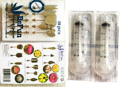 BeFun™ # 3 Gelatin Art Tools Set with serial number & 2 syringes - Gelatin Art Tools - 14