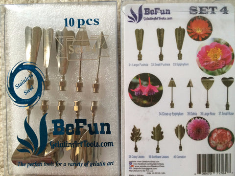 BeFun™ # 4 Gelatin Art Tools Set with serial number - Gelatin Art Tools - 1
