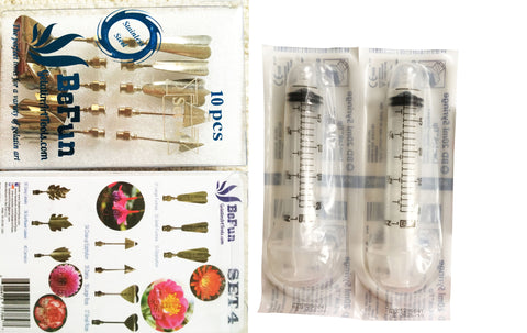 BeFun™ # 4 Gelatin Art Tools Set with serial number & 2 syringes - Gelatin Art Tools - 14