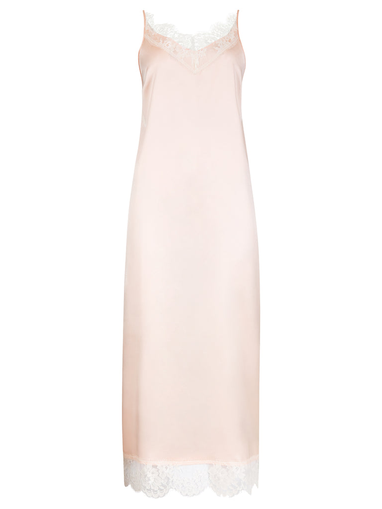 LANA SILK MIDI DRESS S/S