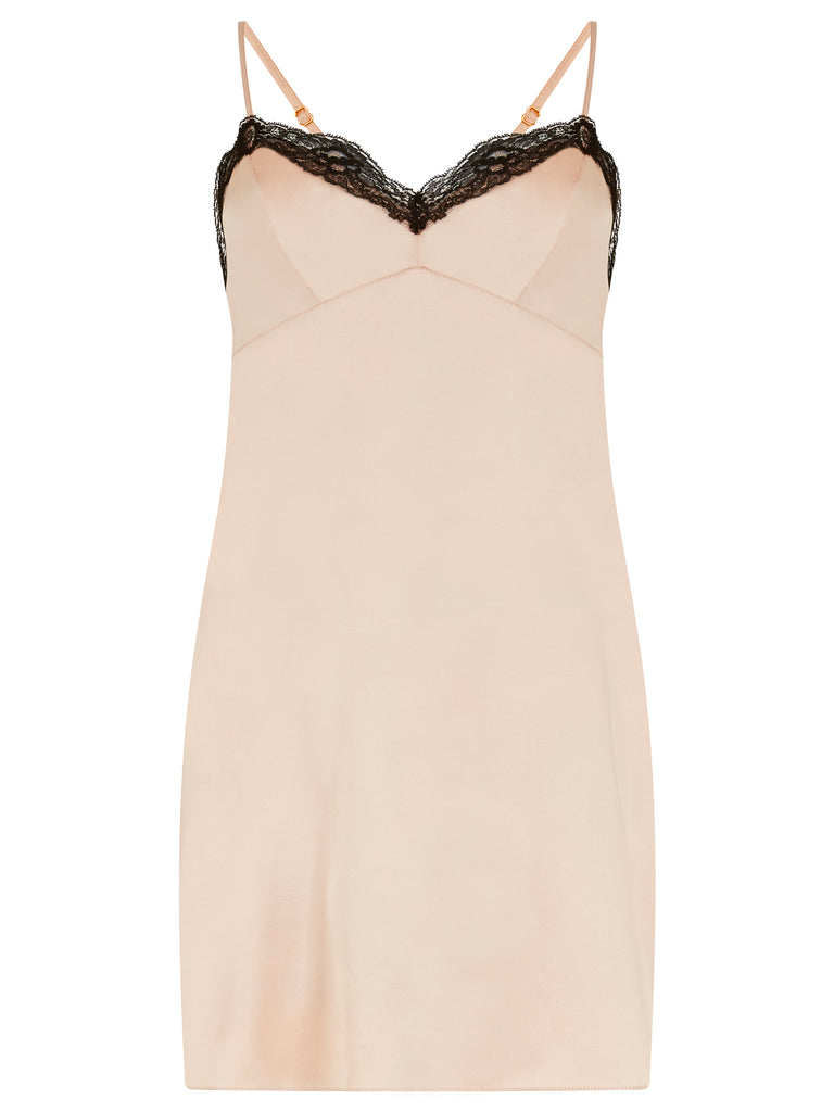 SOPHIA SILK CHEMISE SLIP DRESS