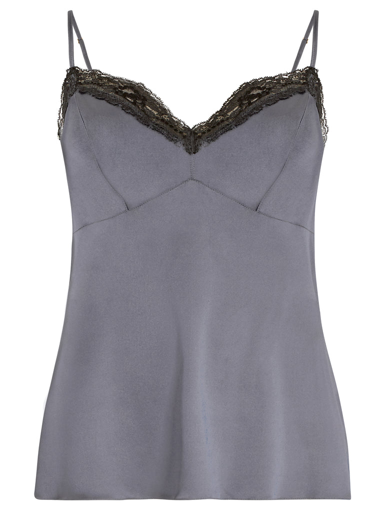 SOPHIA SILK CAMISOLE TOP LONG A/W