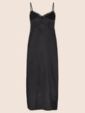 SOPHIA SILK MIDI DRESS