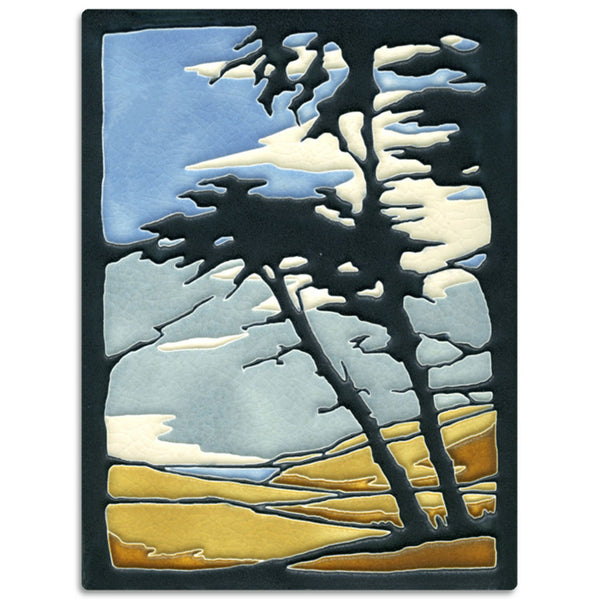 Motawi Tileworks Montana de Oro tile 6 inches by 8 inches