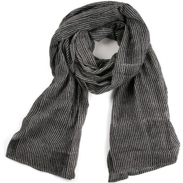Graymarket Alice Stripes midnight scarf