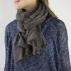 Graymarket Alice Stripes midnight scarf on model