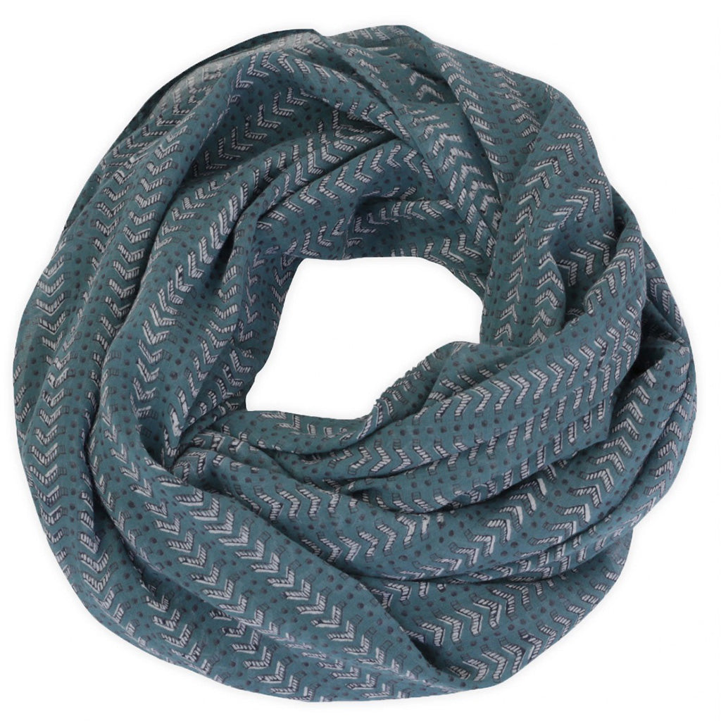 Graymarket bath teal scarf wrapped