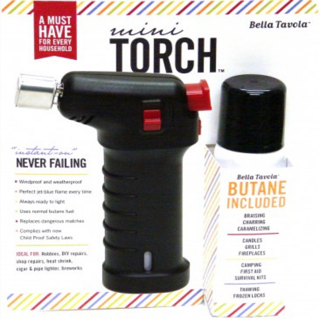 Bella Tavola black mini torch