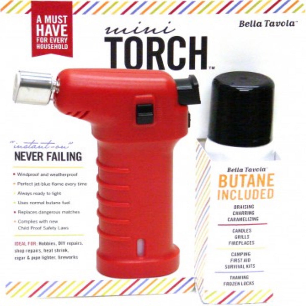 mini torch combo pack red