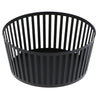 Yamazaki tower striped fruit basket black