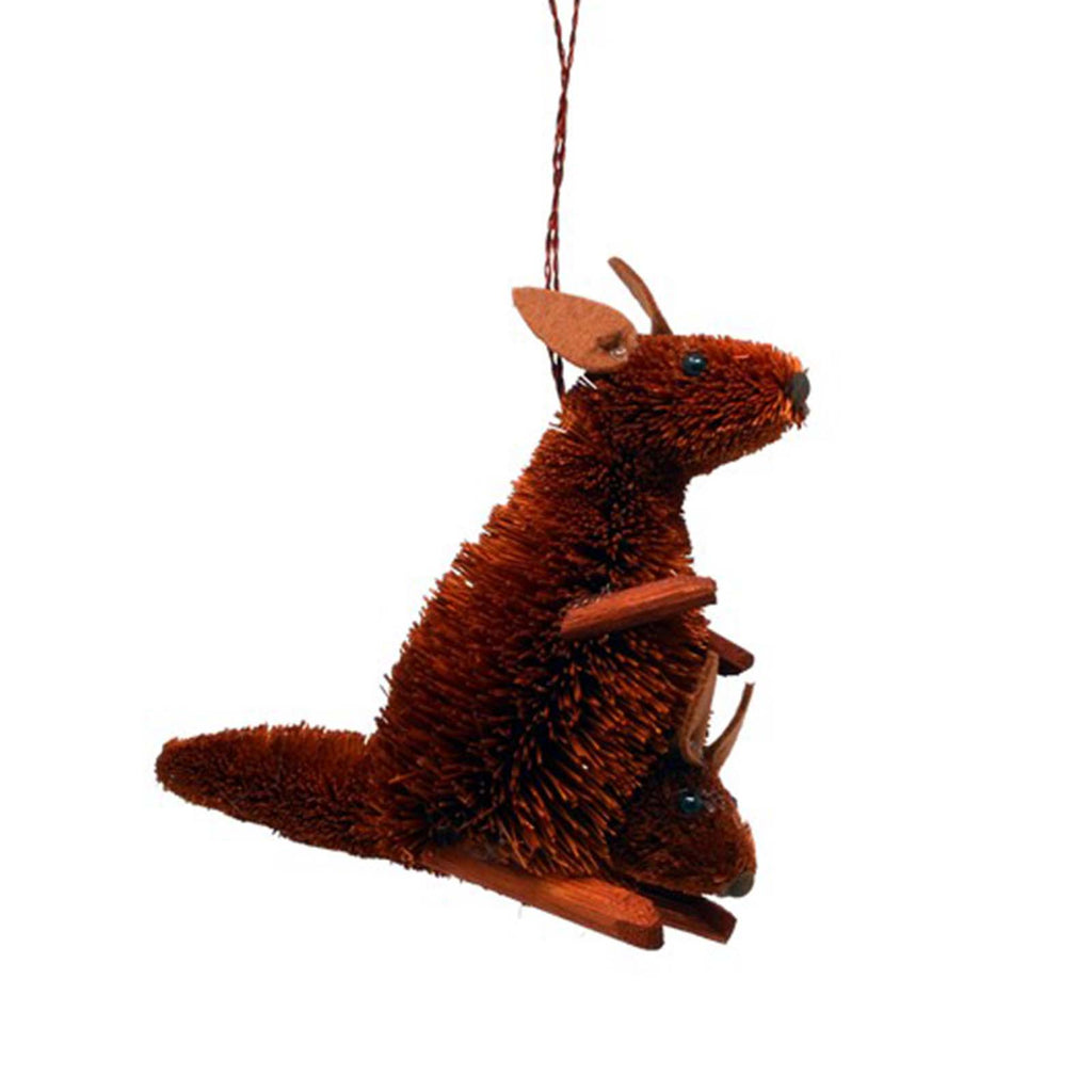 Gift Essentials Kangaroo brush art ornament