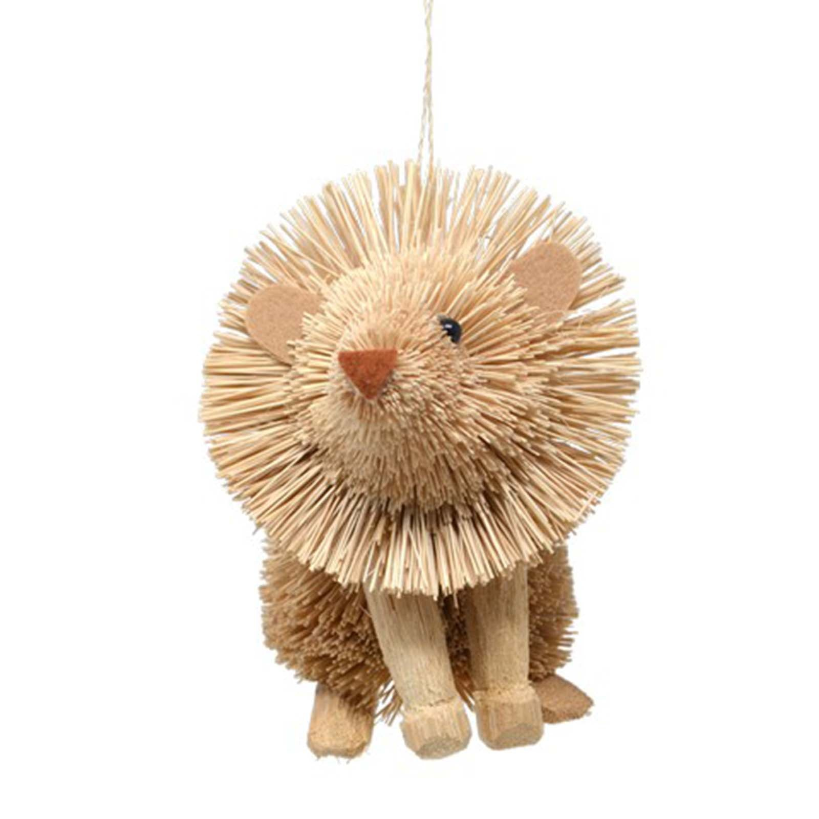 Gift Essentials Lion brush art ornament