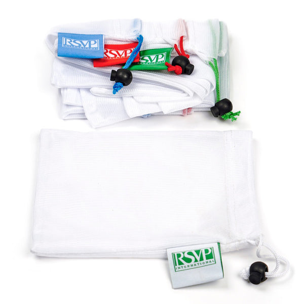 RSVP set of 3 medium mesh produce bags