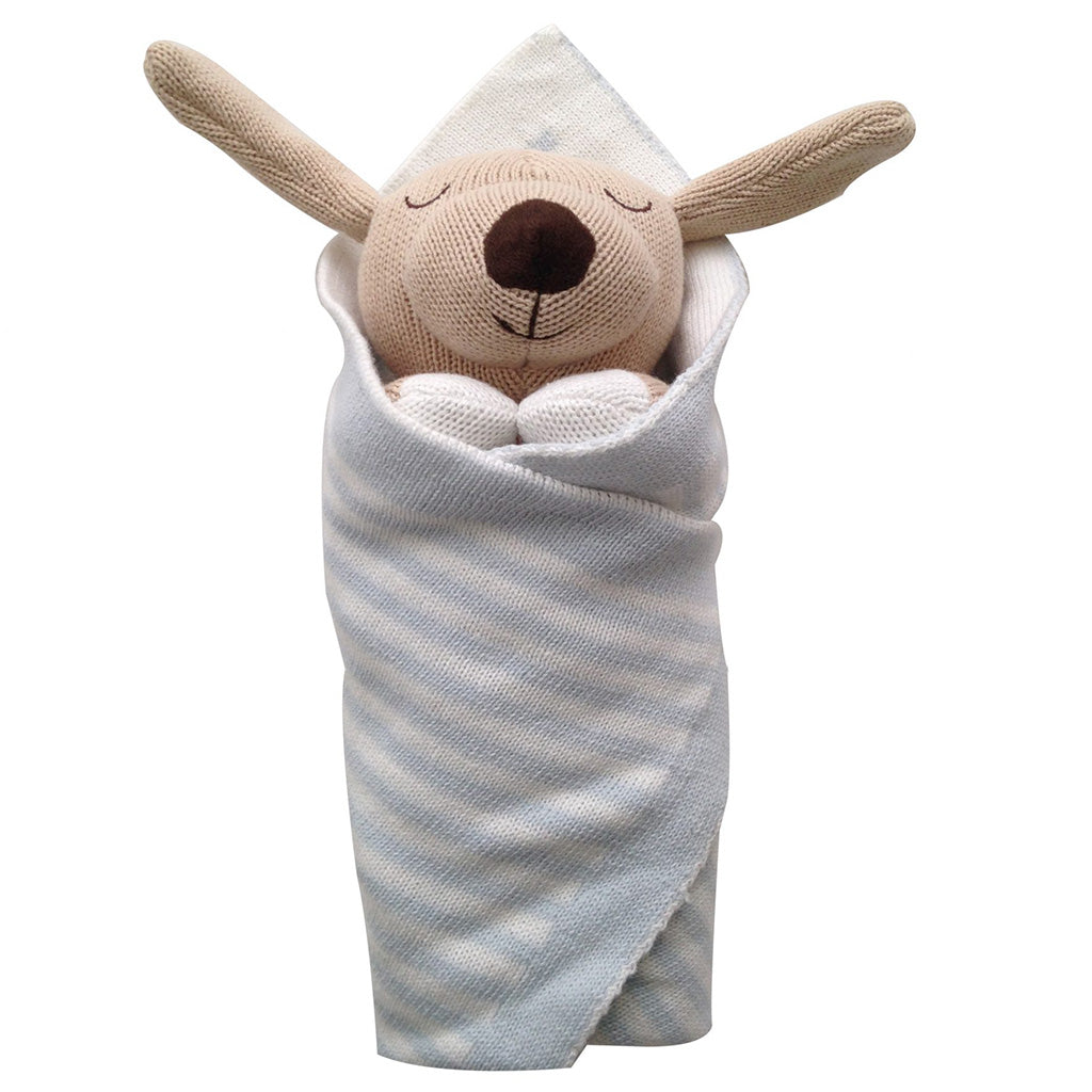 Oscar the dog baby burrito baby gift