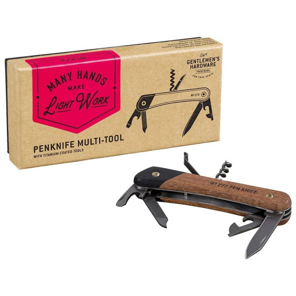 Gentlemen's Hardware Pen Knife Multi-Tool