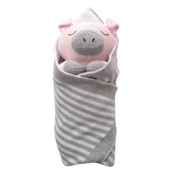 Penny the Piglet Baby Burrito Baby Gift