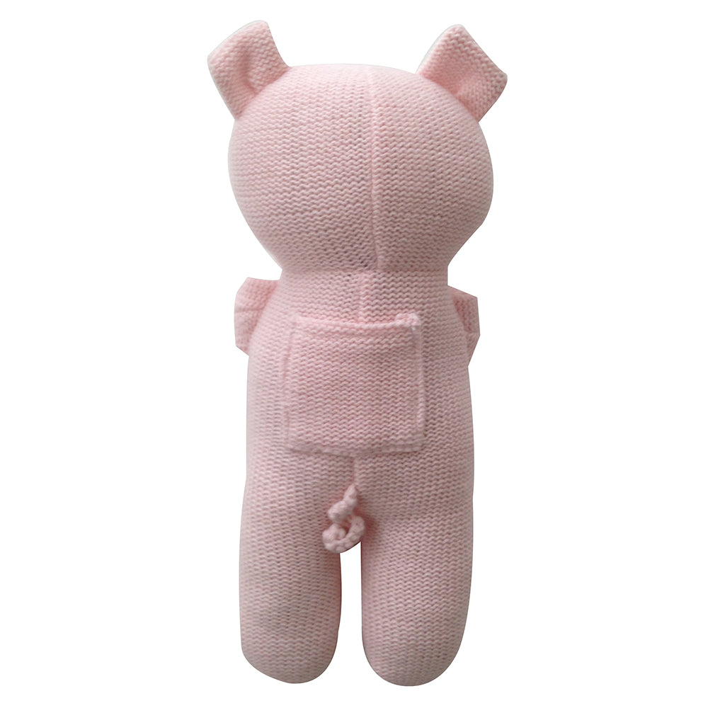 Penny the Piglet Baby Burrito Baby Gift Back