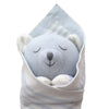 Peter Bear Baby Burrito Baby Gift Close Up