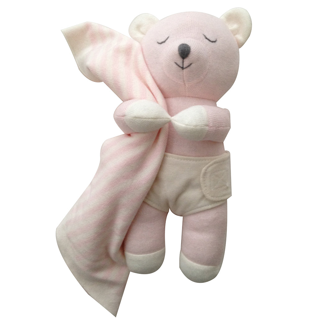 Pixie Bear Baby Burrito Baby Gift with Blanket