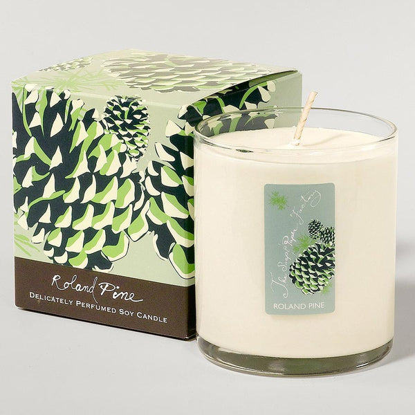 Roland Pine 9.5 ounce soy candle