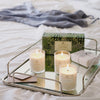 Soap and Paper Factory Roland Pine soy candle trio on tray