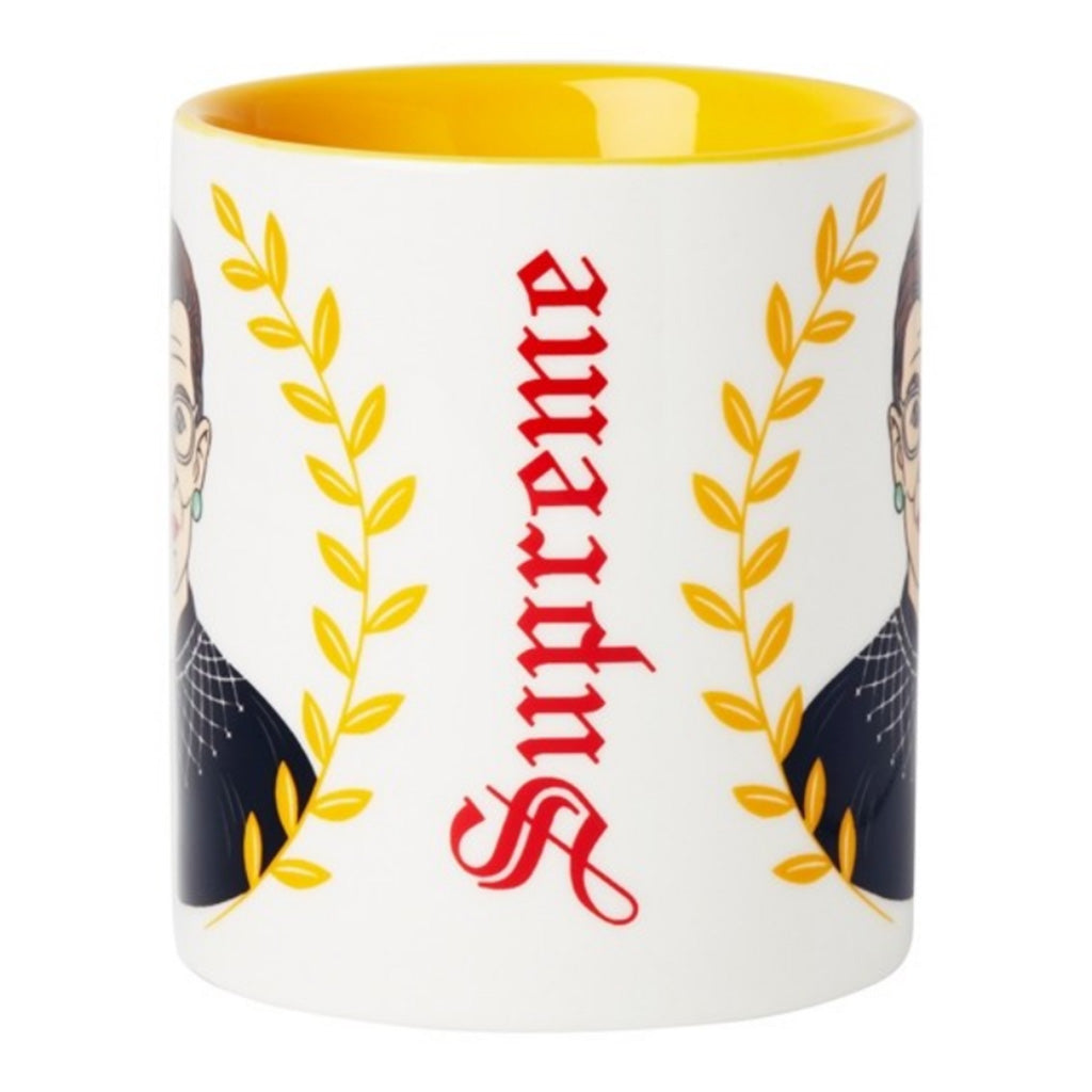 RGB 12 ounce mug with supreme lettering