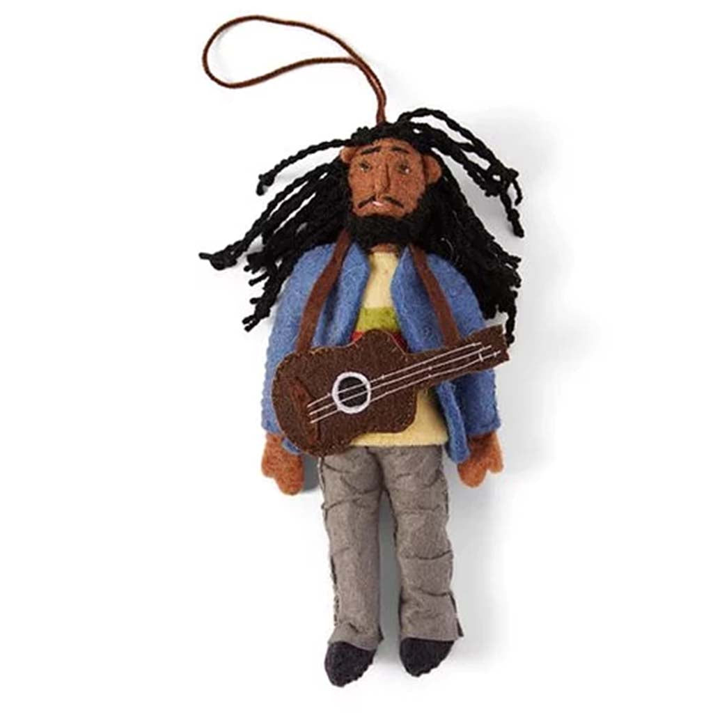 Silk Road Bazaar Bob Marley ornament