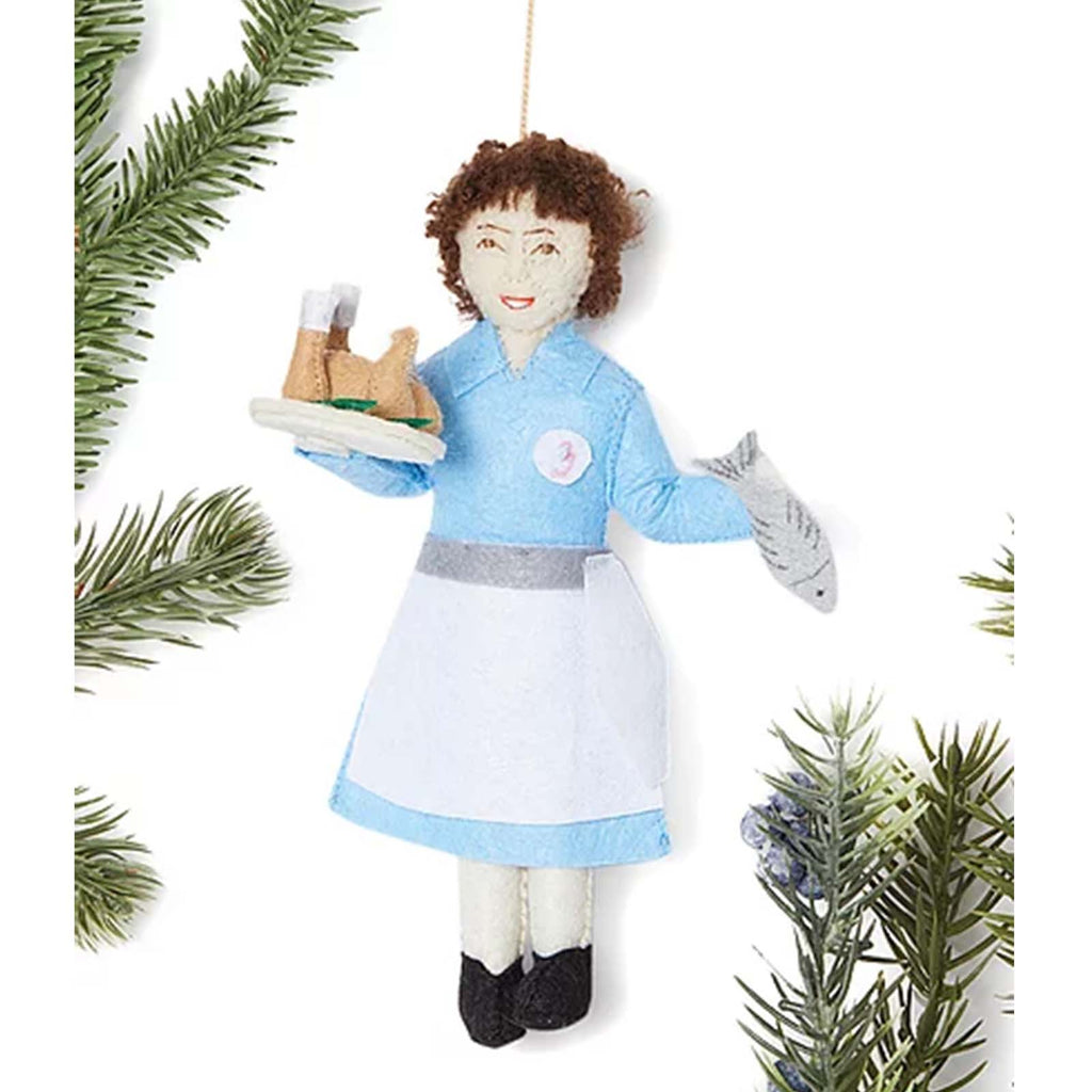 Silk Road Bazaar Julia Child ornament