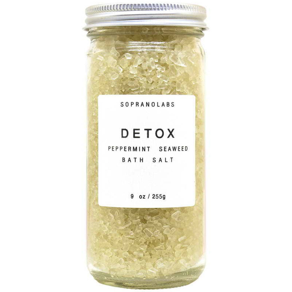 Soprano labs detox peppermint seaweed bath salt