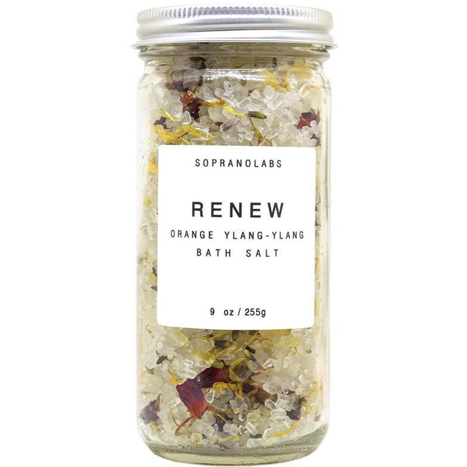 Soprano labs renew ylang ylang bath salt