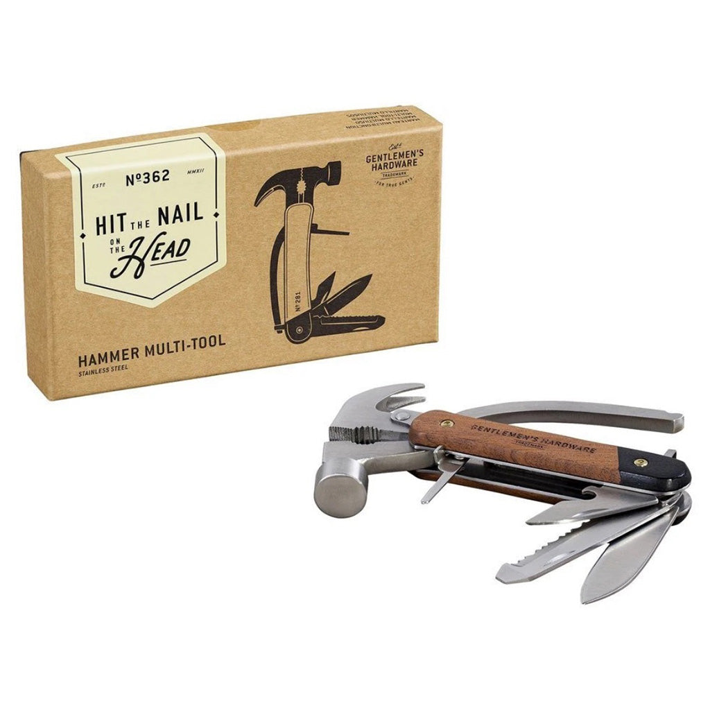 Gentlemen's Hardware 6-in-1 Hammer Multi Tool