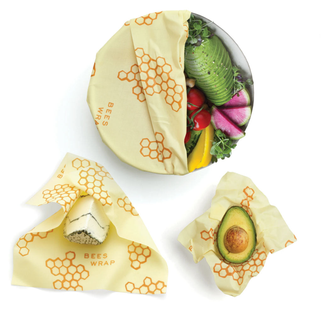 bees wrap 3 piece assortment