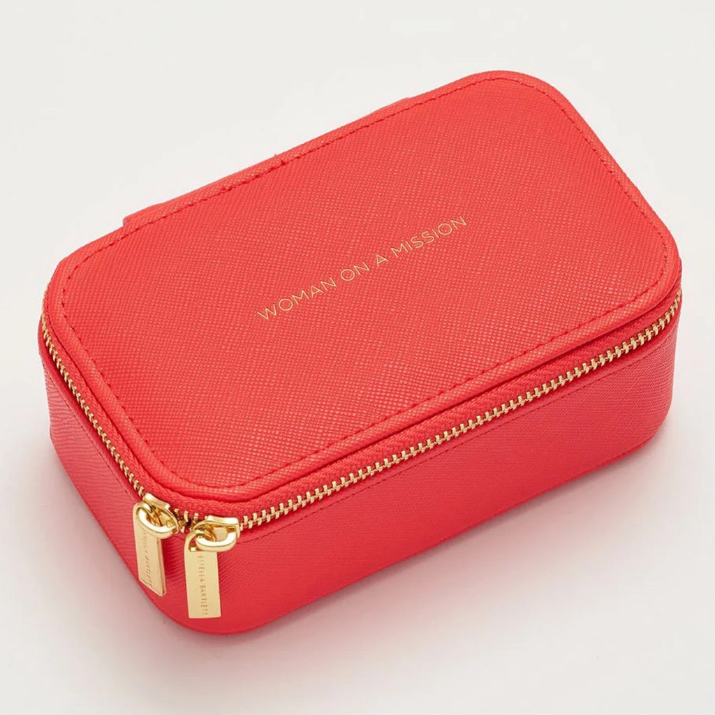 Estella Bartlett mini coral jewelry box