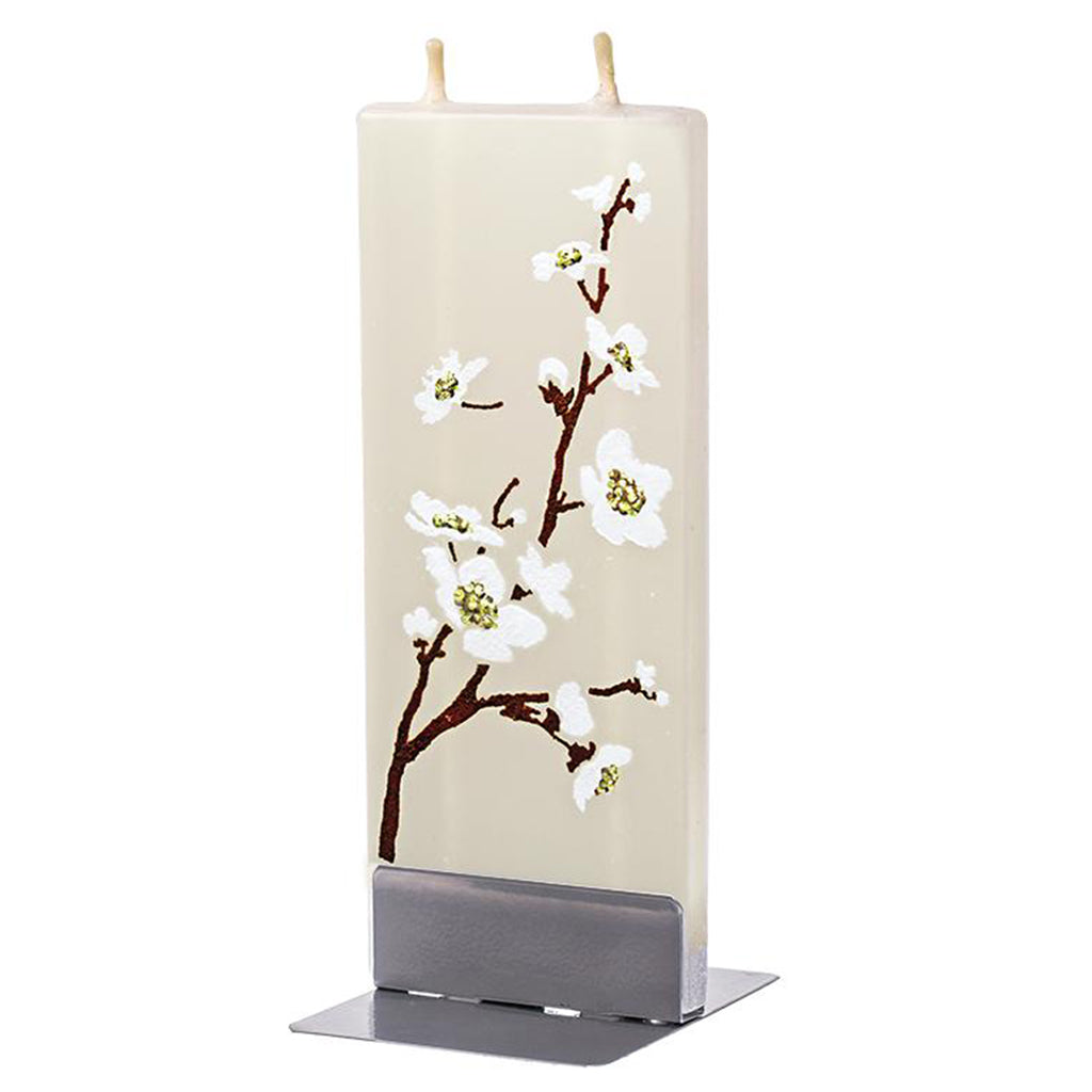 Flatyz handmade candle cherry flower