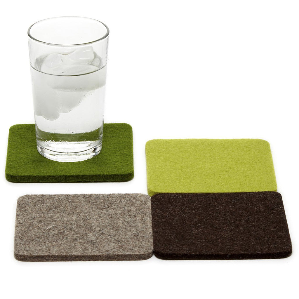 Graf-Lantz set of 4 coasters forest
