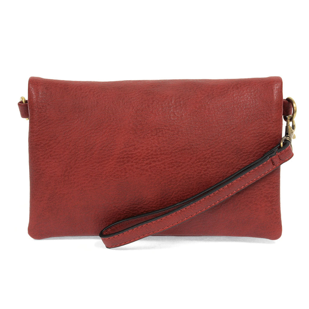 kate crossbody clutch sangria full view