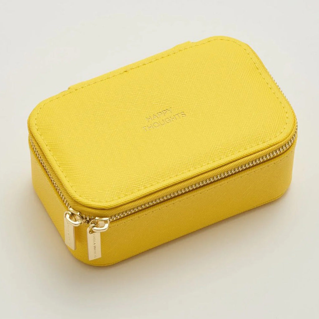 Estella Bartlett mini yellow jewelry box