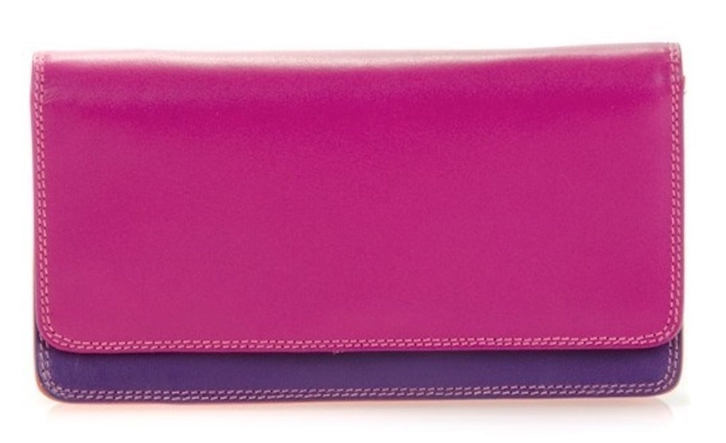 My Walit medium matinee wallet sangria  front view