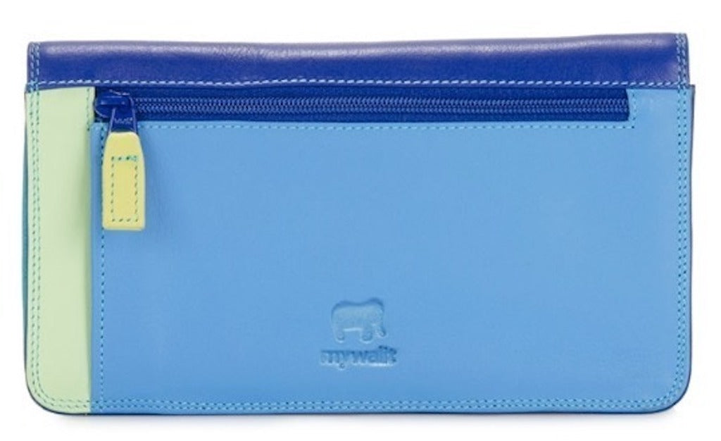 My Walit medium matinee wallet seascape back view