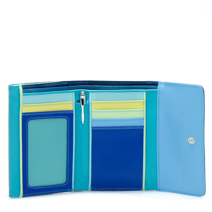 double flap wallet seascape