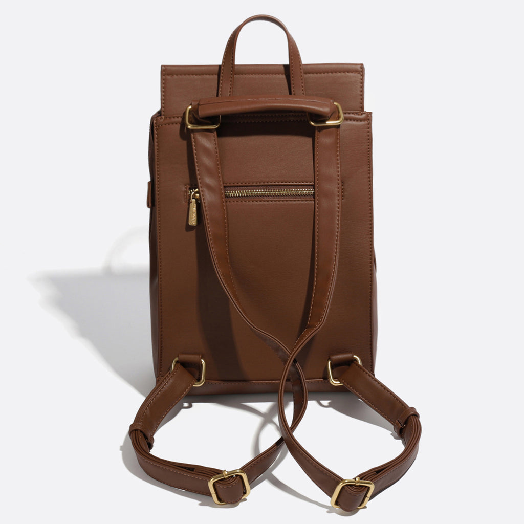 Pixie Mood Kim backpack dark oak back