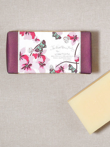 5 oz shea butter soap jasmine  made in the USA  aromatherapy  floral  artisanal  handcrafted  skincare