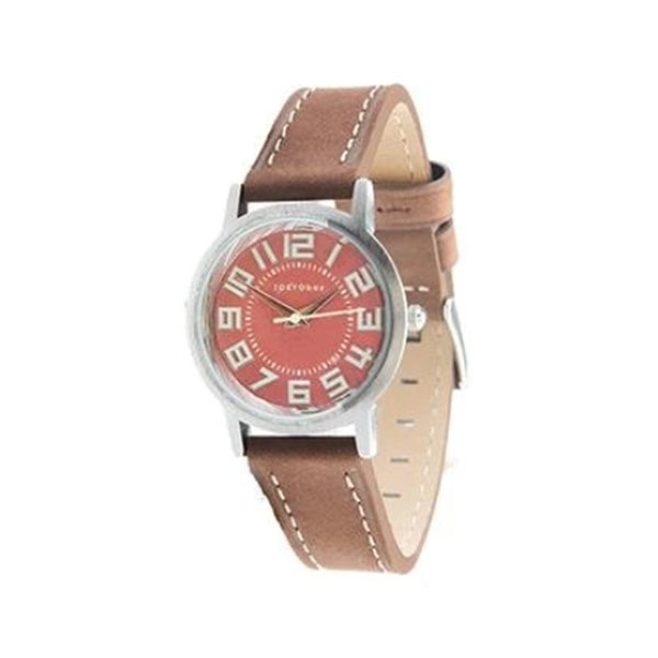 Tokyo Bay small track watch nut brown