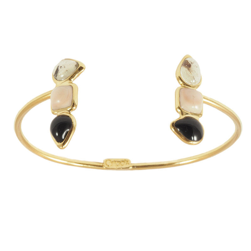 Double Geometrical shape Adjustable Bracelet