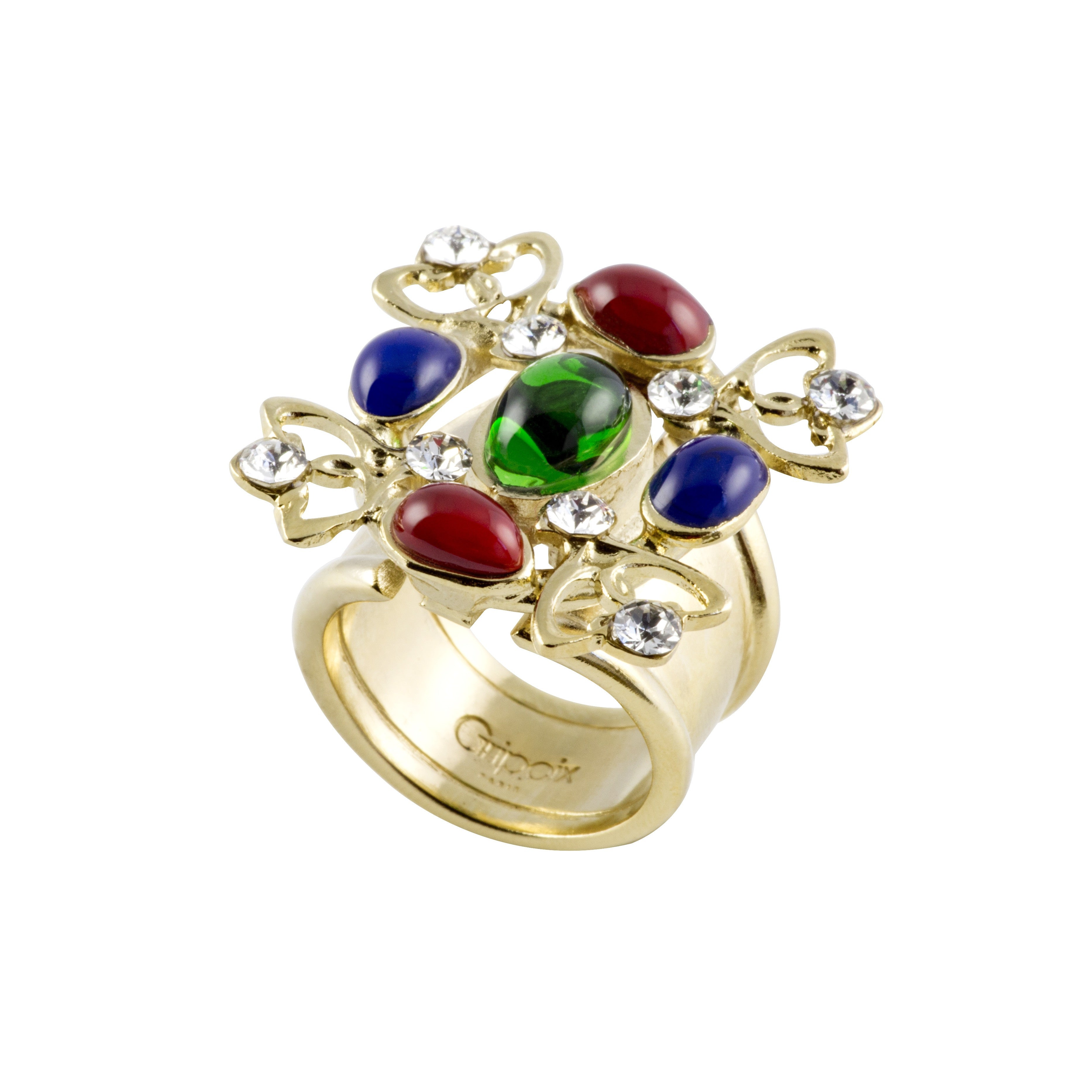 Plumetis Adjustable Ring