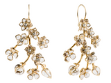 Glamour Pierced Drop Earrings